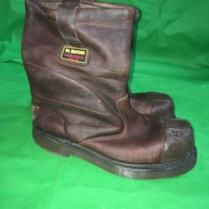 Dr Martens Steel Toe Safety Work Boots Size 9 US
